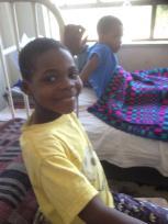In Ndola Hospital